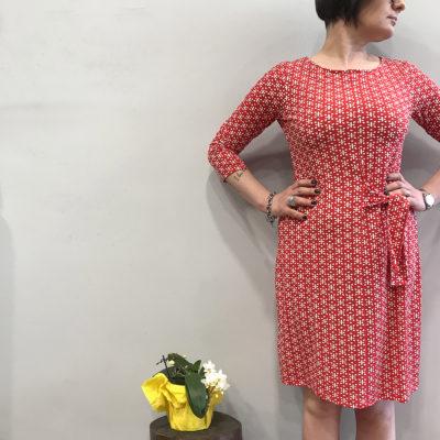 abito-rosso-surkana-collezione-SS19-abbigliamento-donna-Crazy-Art-Torino