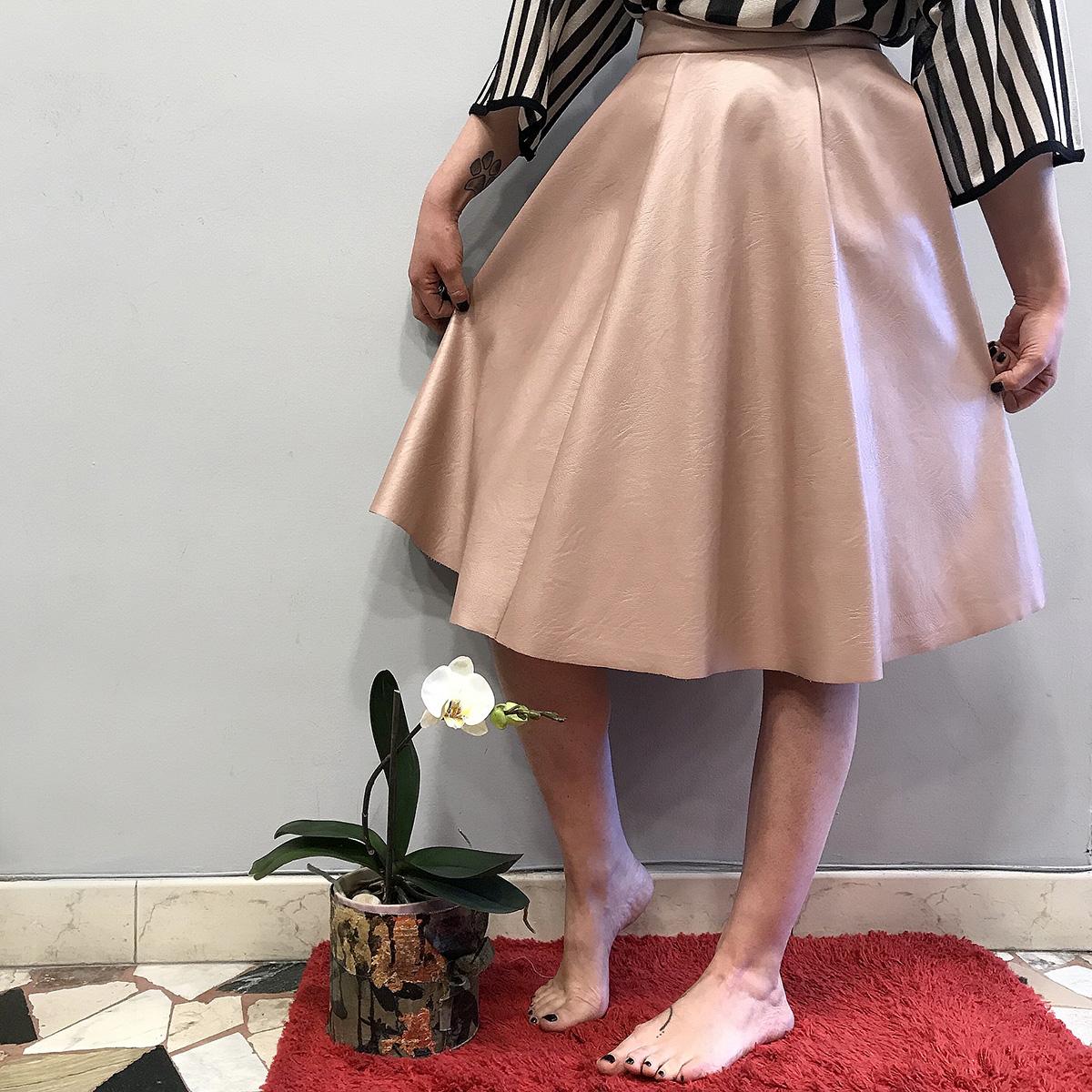 gonna-rabat-pepe-rosa-collezione-SS19-abbigliamento-donna-Crazy-Art-Torino