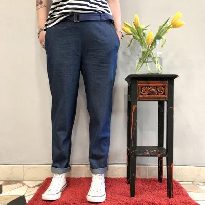 pantalone-tipo-jeans-surkana-collezione-SS19-abbigliamento-donna-Crazy-Art-Torino