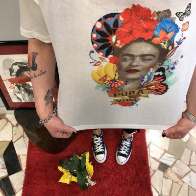 t-shirt-surkana-collezione-SS19-abbigliamento-donna-Crazy-Art-Torino